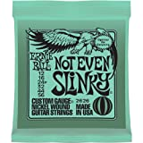 Ernie Ball 2626 Not Even Slinky Nickel Wound String Set (12 – 56), Best Gadgets