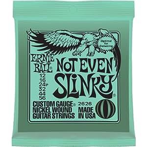 Ernie Ball Not Even Slinky Nickel Wound Set, .012 - .056