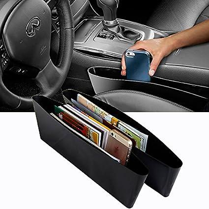 Kawachi Universal Auto Car Seat Gap Pocket Catcher Organizer Storage Box Organization Bag Pack
