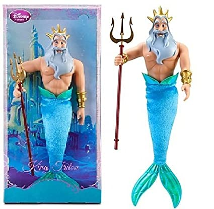 amazon com disney the little mermaid exclusive king triton doll