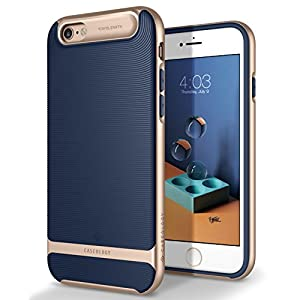 Caseology Wavelength Series iPhone 6S Cover Case with Pattern Slim Protective for Apple iPhone 6S (2015) / iPhone 6 (2014) - Navy Blue