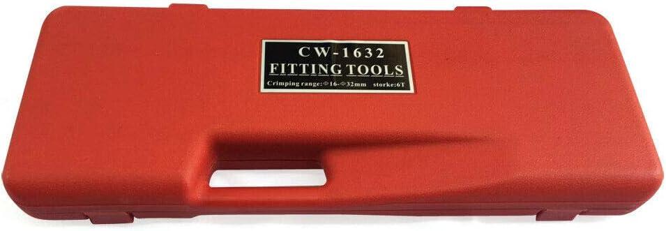Kit attrezzi pinza calibratore calibratore FIXKIT tagliatubi professionale tubo composito calibratore a molla piegatrice PEX e cesoia per tubi
