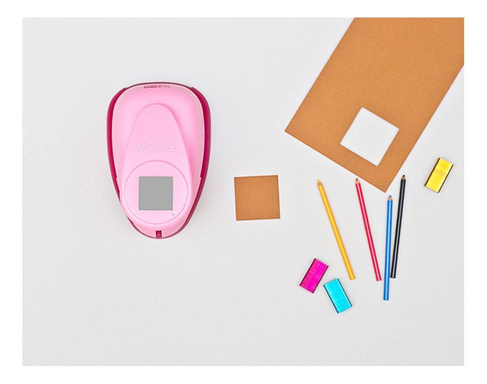 XL efco perforatrice a quadrato rosa 35/mm