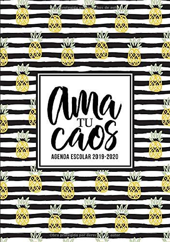 Amazon.com: Ama tu caos: Agenda escolar 2019-2020: Del 1 de ...