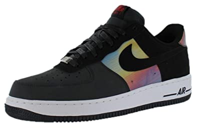 Nike Air Force 1 Comfort \u0026quot;Hologram\u0026quot; Mens Basketball Shoes  599456-001 Anthracite