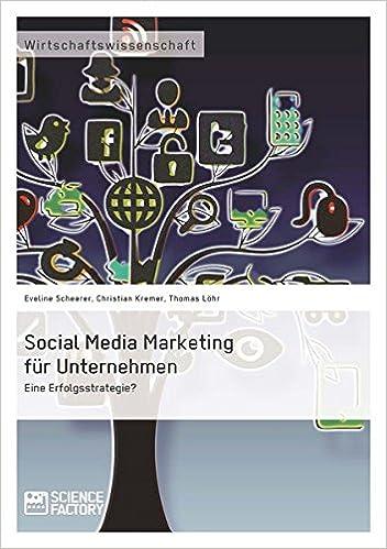 Cover des Buchs: Social Media Marketing für Unternehmen. Eine Erfolgsstrategie?