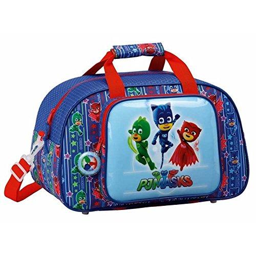 PJ Masks Sport Bag,Holiday Bag,Shoulder Bag, Official Licensed (40cm/15.5