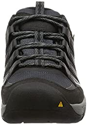 KEEN Men\'s Oakridge WP Shoe, Magnet/Gargoyle, 11 M US