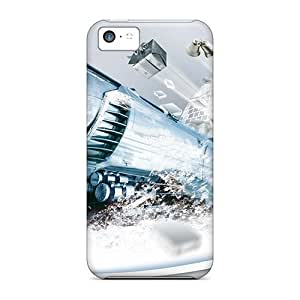 Perfect Christmas Train Cases Covers Skin For Iphone 5c Phone Cases