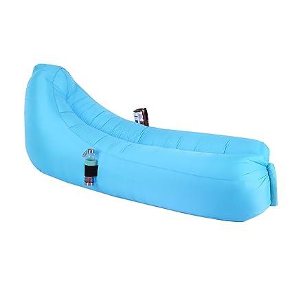jycra inflable aire tumbona sofá, sofá portátil rápido de inflar ...