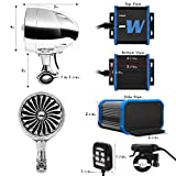 """GoHawk TJ4-W Waterproof Amplifier 4"""" Full Range"""