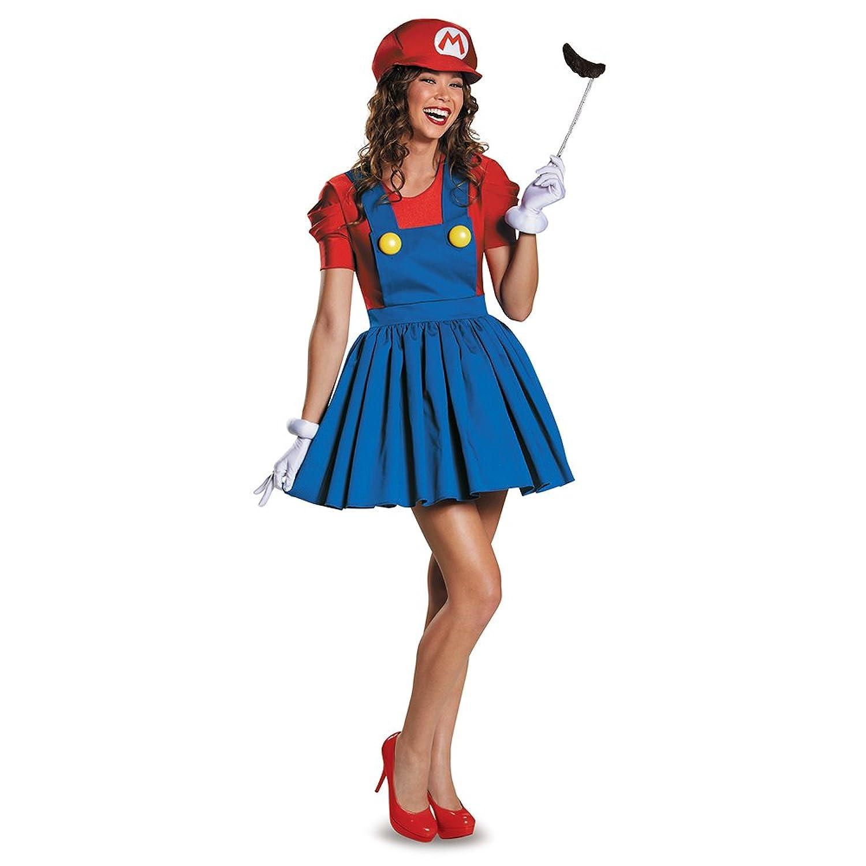 Amazon.com: Disguise Women's Mario Skirt Version Adult Costume ...