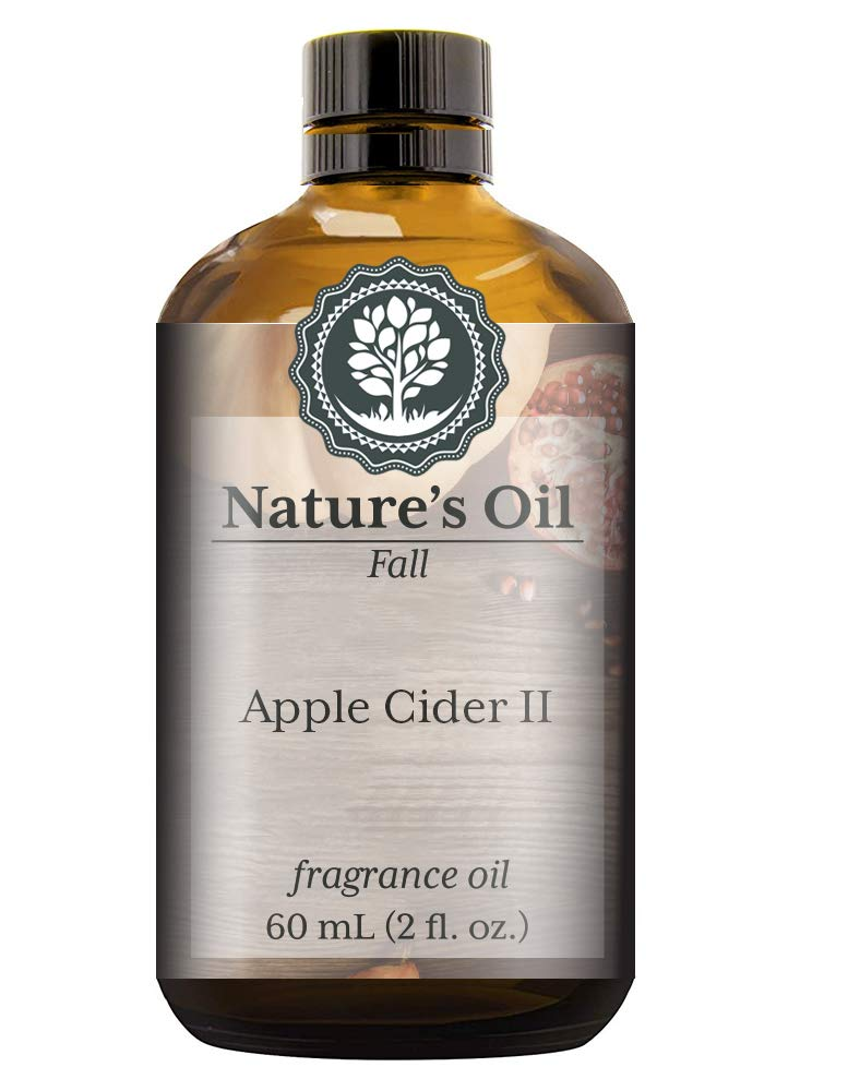 Apple Cider II Fragrance Oil (60ml) For Diffusers, Soap Making, Candles, Lotion, Home Scents, Linen Spray, Bath Bombs, Slime