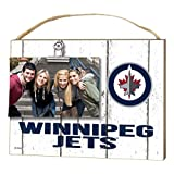 "KH Sports Fan 1001100668 10""x8"" Winnipeg Jets Clip It Weathered Logo NHL Photo Frame"