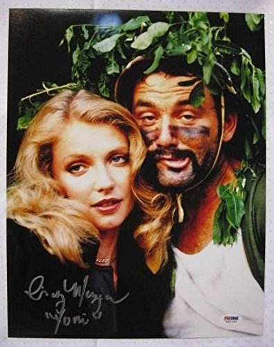 Cindy Morgan Signed Caddyshack 11x14 Inscribed Lacy Underall Photo Autograph PSA/DNA w/ COA w/ OC Dugout Hologram A -