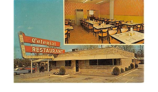 La Follette Tennessee Colonial Restaurant Multiview Vintage Postcard K49832 at Amazons Entertainment Collectibles Store