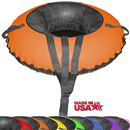 Bradley Ultimate Tow-able Snow Tube and Orange Cover by Bradley