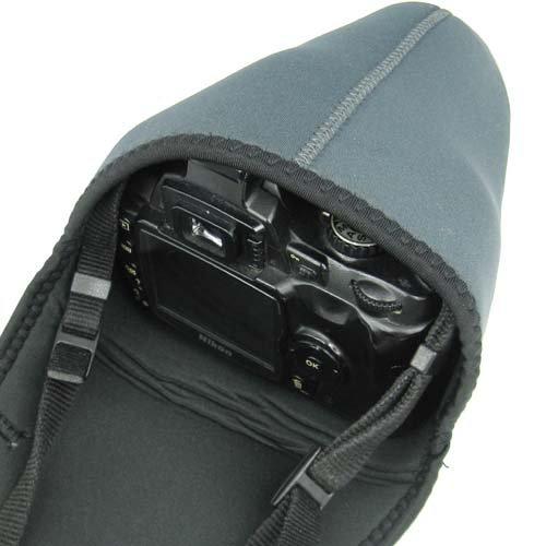 TRIXES DSLR S Soft Neoprene Camera Pouch Case Bag Cover