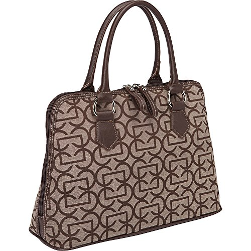 aurielle-carryland-geo-signature-dome-satchel-brown-taupe