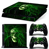 Vinyl Decal Protective Skin Cover Sticker for Sony PS4 Console And 2 Dualshock Controllers #03