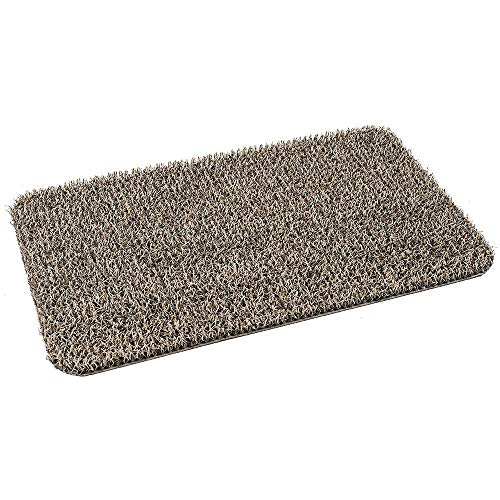 "Clean Machine Door Mat Plus Scraper 17-1/2"" X 29-1/2"" Taupe"