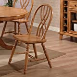 Amazon.com: Solid Oak - Chairs / Kitchen & Dining Room Furniture ...