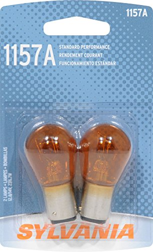 SYLVANIA 1157A Basic Miniature Bulb, (Contains 2 Bulbs)