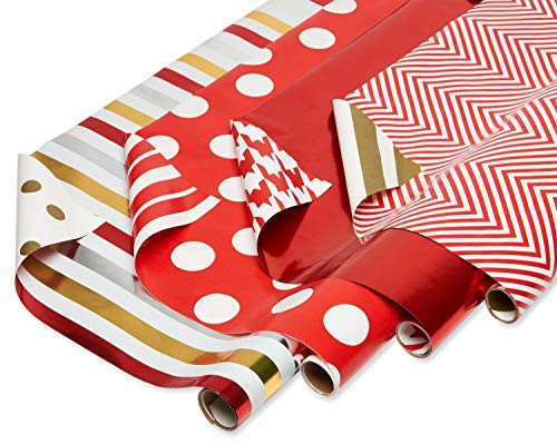 Which is the best christmas wrapping paper foil red?