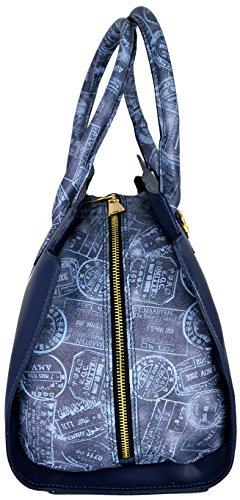 Borsa Bauletto Tracolla Donna Marine/Denim Alviero Martini Bag Woman Blue Comprar Con El Envío Libre Paypal Descuento Venta Barata De Descuento P7p87Wdmc