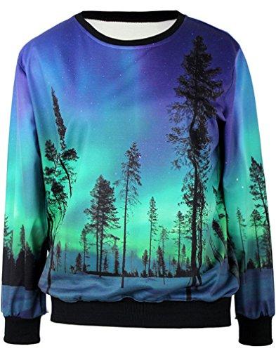 T Digitale Donna Sweden Shirt Stampa Aurora Belsen Lovers Felpe nIgwxwZ