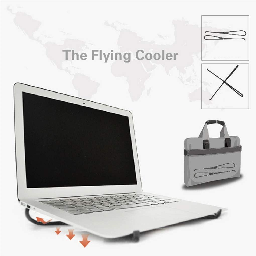 Diamoen 1 Par Equipo port/átil Plegable sostenedor del Soporte de Apoyo Soporte Ajustable para port/átil Notebook Laptop Stand de Escritorio Soporte ergon/ómico