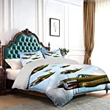 Miles Ralph Airplane Extra Large Duvet Cover