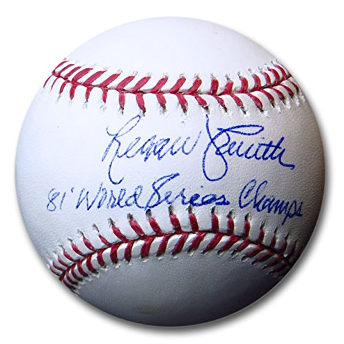 Signed Dodgers World Series - Reggie Smith Signed Autographed MLB Baseball Dodgers