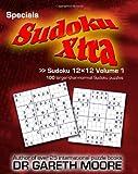 Sudoku 12x12 Volume 1, Gareth Moore, 1453837264