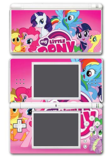 My Little Pony Friendship is Magic MLP Pinkie Pie Rarity Rainbow Dash Twilight Sparkle Applejack Horse Video Game Vinyl Decal Skin Sticker Cover Wrap for Nintendo DS Lite System