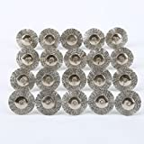 60 Pcs Wire Brushes Set, Rocaris Steel Wire Wheels