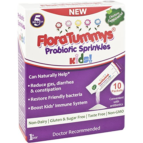 FloraTummys Probiotics Sprinkles 10ct (Pack of 6)