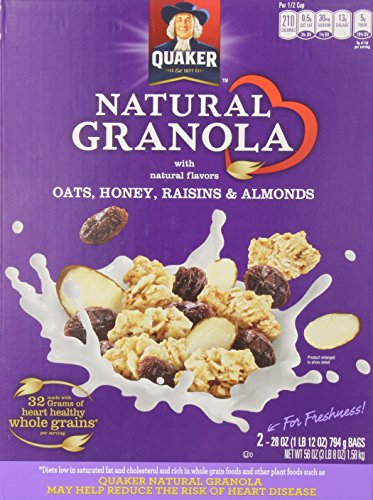 Quaker 100% Natural Granola - 8