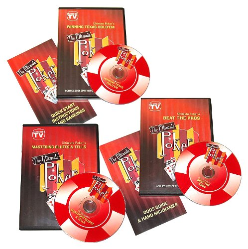 [Trademark Ultimate Poker Collection Instructional DVD (Red)] (Ultimate Poker Dvd Collection)