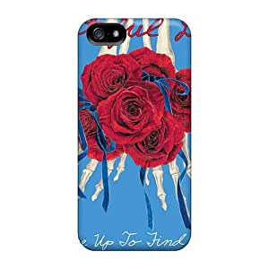Iphone 5/5s TRb20249Bvmv Support Personal Customs Lifelike Grateful Dead Series Shockproof Hard Phone Case -TimeaJoyce