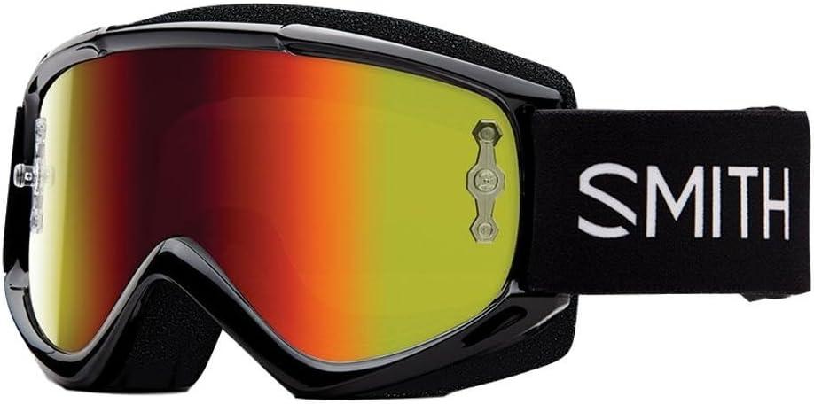 SMITH MX Goggle V1 Max black red mirror