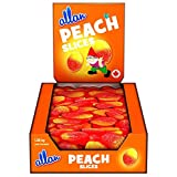 ALLAN Peach Gummy Christmas Candy Slices, Gift, 1080 Gram
