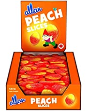 ALLAN Gummy Candy, Peach Slices, 1080 Gram