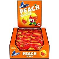 ALLAN Gummy Candy, Peach Slices, 1080 Gram