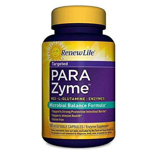 Renew Life PARAZyme digestive vegetable