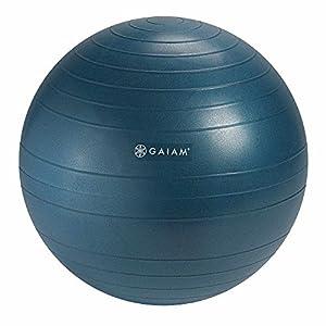 Gaiam Balance Ball Chair Replacement Ball, Ocean Blue, 52cm