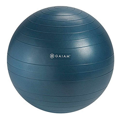 Gaiam Balance Ball Chair Replacement Ball, Ocean Blue, 52cm