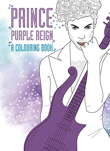 Prince: Purple Rain: A Coloring Book