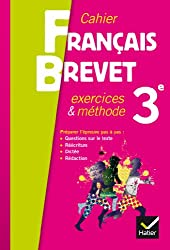 Grammaire 3e éd. 2013 - Cahier d'exercices spécial brevet