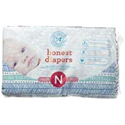 The Honest Company Disposable Baby Diapers, Teal Tribal, Size 0, 40 ct